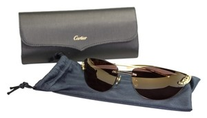 Cartier Cartier Panthere Gold Sunglasses