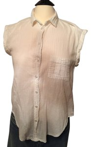 Ella Moss Button Down Shirt Cream