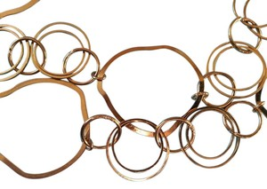 Express Gold Circles Necklace