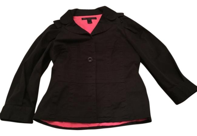 Preload https://img-static.tradesy.com/item/9165502/marc-by-marc-jacobs-black-hot-pink-lined-blazer-size-6-s-0-3-650-650.jpg