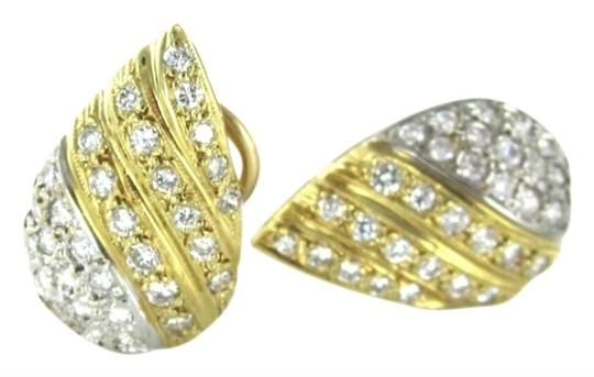 Preload https://item2.tradesy.com/images/gold-14kt-yellow-white-solid-teardrop-64-diamond-125-carat-fine-jewel-earrings-916551-0-0.jpg?width=440&height=440