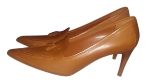 Ralph Lauren Collection Cognac Pumps