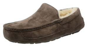 UGG Australia Gifts For Men Men's Gifts Gifts For Him Men's Slippers Slippers For Men Men's Uggs Ascot Slippers Ugg Ascot Espresso Flats