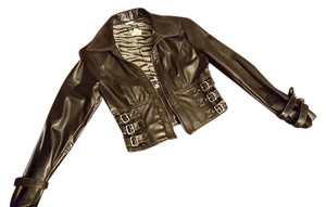 A.B.S. by Allen Schwartz Motorcycle Jacket
