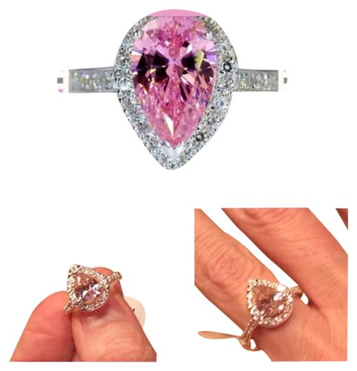 Preload https://img-static.tradesy.com/item/9166219/pink-topaz-and-925-silver-new-pear-shape-cocktailengagementweddingpromise-6-9-avail-ring-0-3-540-540.jpg