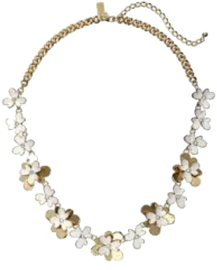 Preload https://img-static.tradesy.com/item/9166387/kate-spade-12k-gold-and-cubic-zirconia-and-white-enamel-accents-modern-sweet-style-pansy-blossom-not-0-3-540-540.jpg
