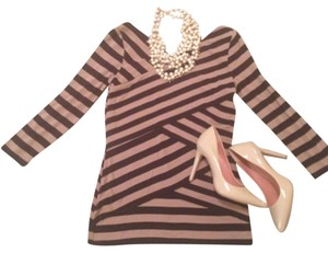 Vince Camuto Top Black/camel