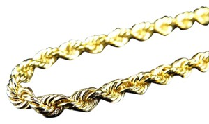 Jewelry Unlimited Mens 10k Yellow Gold 8 Mm Hollow Rope Chain Necklace 30 Inches