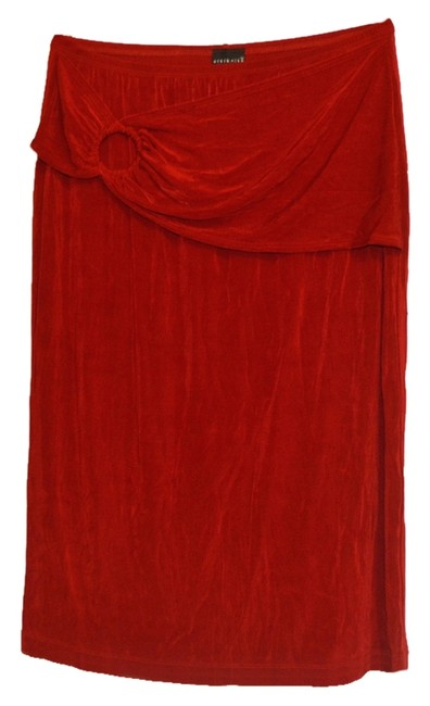 Preload https://img-static.tradesy.com/item/9166654/citiknits-red-with-sash-large-knee-length-skirt-size-14-l-34-0-1-650-650.jpg
