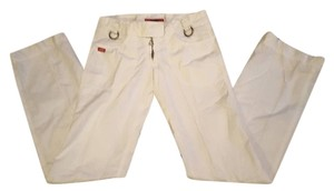Miss Sixty Boot Cut Pants White