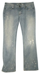 Guess Distressed Boot Cut Jeans-Distressed