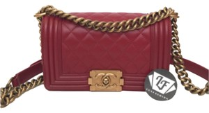 Chanel Le Boy Boy Cross Body Bag
