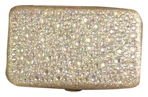 Charming Charlie Silver Clutch