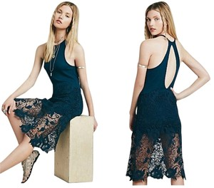 Free People short dress Nora Lace Overlay on Tradesy