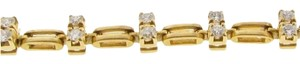 Other 18K GOLD & 1.6 CT TW Diamond Link Bracelet