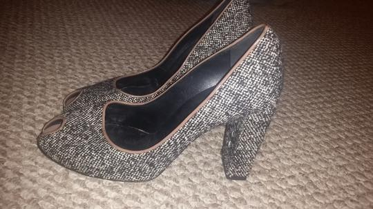 Casadei Black tweed Pumps