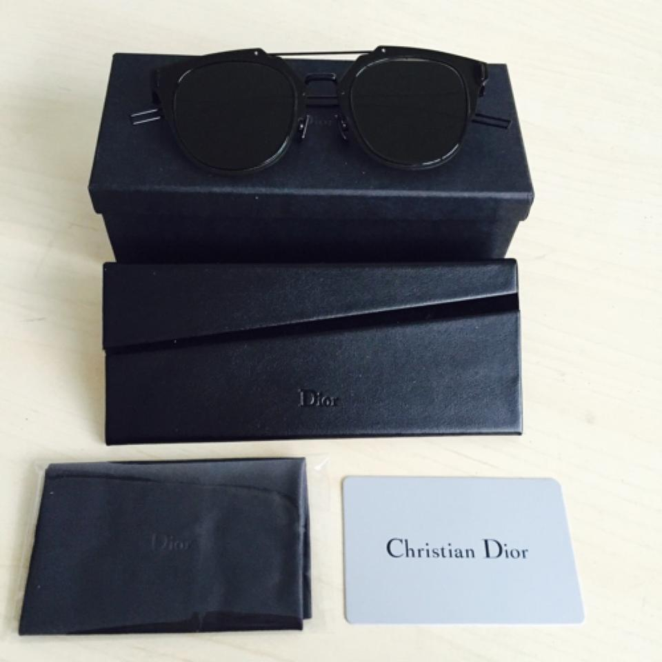86b962331d1f3 Dior Homme Composit 1.0 Sunglasses Dark Grey Black Grey - Tradesy