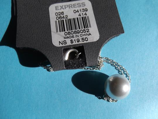 Express Matching Faux Pearl 7 Bracelets and Necklace and Earrings by Express