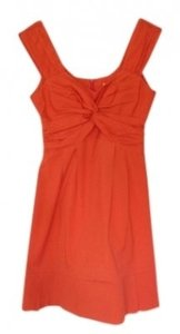 Nanette Lepore short dress Orange on Tradesy