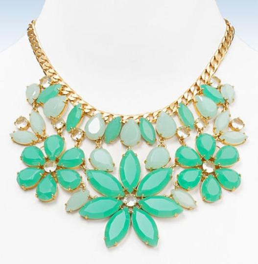 Kate Spade Elaborate Floral Bib Dangling From An Oversized Cable Chain! Kate Spade Gardens of Paris Statement Necklace! NWT Stunning, Memorable, Unforgettable!