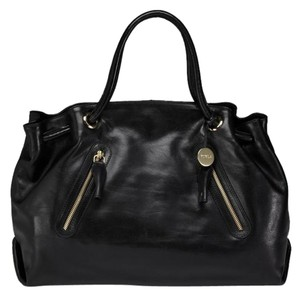 Furla Lether Tote in Black