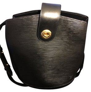 Louis Vuitton Cluny Epi Leather Bucket Shoulder Bag