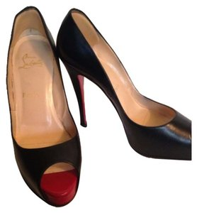 Christian Louboutin Black/Red Pumps