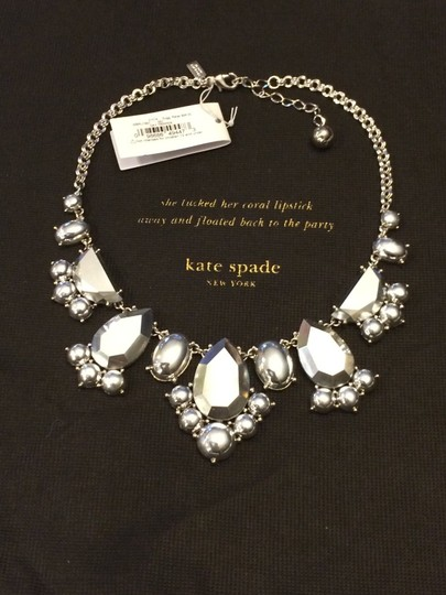 Kate Spade Modern Twist on Industrial Urban Chic! Kate Spade Day Tripper Necklace NWT Perfect with a LBD or Motorcycle Jacket!