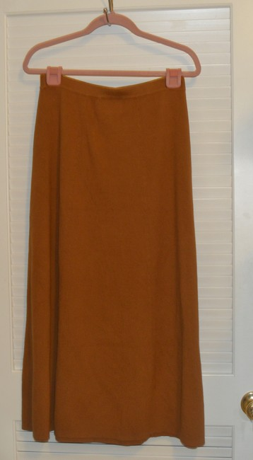 Linea by Louis Dell'Olio Maxi Skirt Brown
