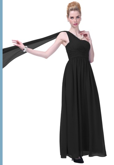 Preload https://img-static.tradesy.com/item/916927/black-chiffon-draped-one-shoulder-pleated-goddess-long-formal-sexy-bridesmaidmob-dress-size-14-l-0-0-540-540.jpg