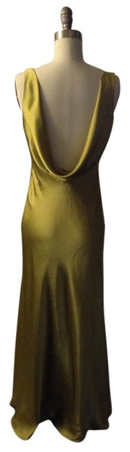 Item - Olive Gown Long Night Out Dress Size 4 (S)