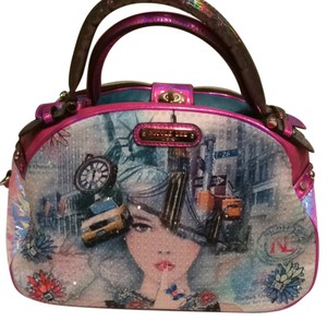 Nicole Lee Satchel in Multi Color