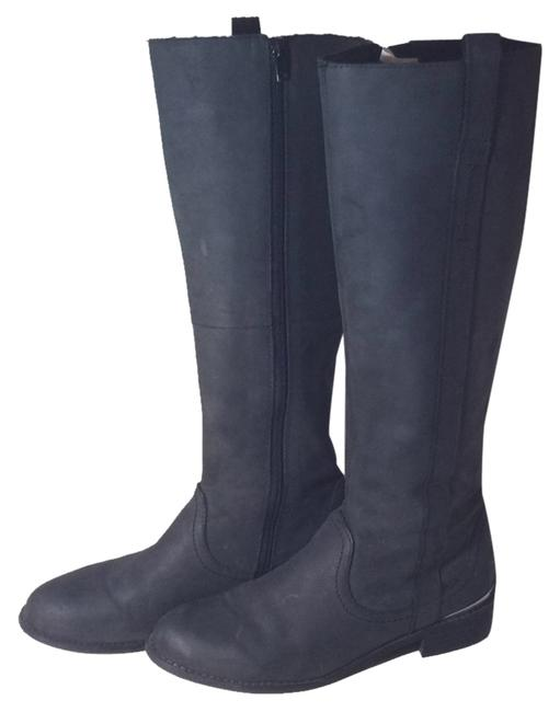 Item - Black Leather Riding Boots/Booties Size US 6