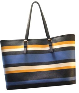 Michael Kors Tote in Blue, Yellow, White