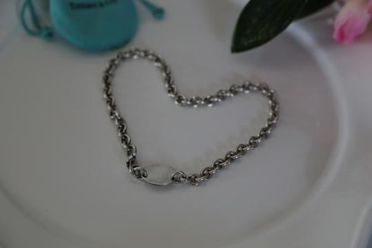 Tiffany & Co. TIFFANY AND CO. STERLING SILVER 925 TAG CHOKER NECKLACE 15.5