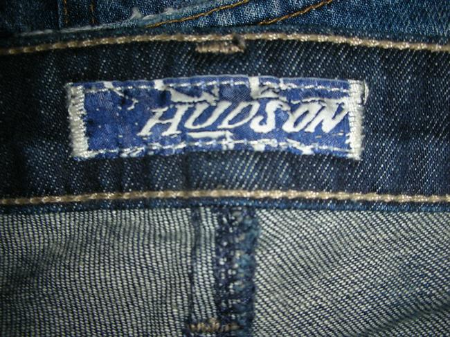 Hudson Jeans Capri/Cropped Denim-Dark Rinse