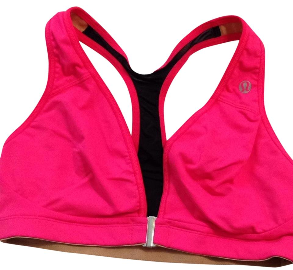 6b4dab8f18d Lululemon Pink Ray Lift   Separate Activewear Sports Bra Size 6 (S ...