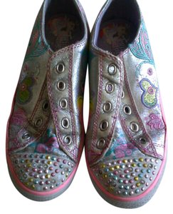 Skechers Chic Embellished Sporty silver/colorful Athletic