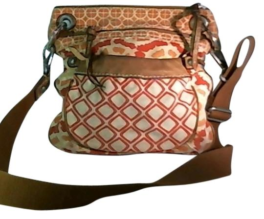 Preload https://item5.tradesy.com/images/multi-colored-orange-tan-red-shoulder-bag-917364-0-0.jpg?width=440&height=440