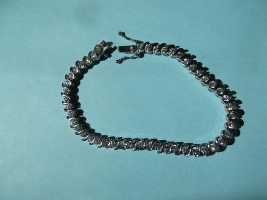 Other Coordinating Faux Diamond Bracelet and Ring in 925