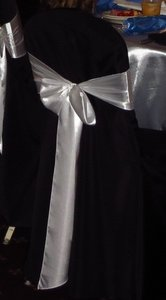 Black Chair Covers - Used Once