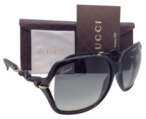 Gucci New GUCCI Sunglasses GG 3584/S 3GTAE 59-15 Black Frame w/Grey Gradient Lenses