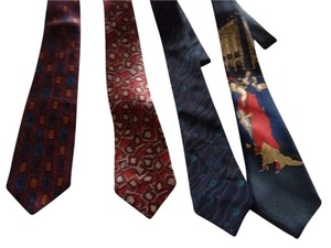 4 silk ties 4 Silk Men's Ties