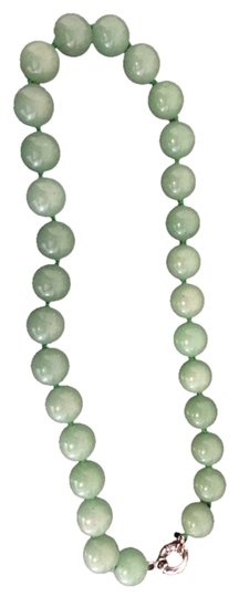 Other Green Glass Jade Necklace