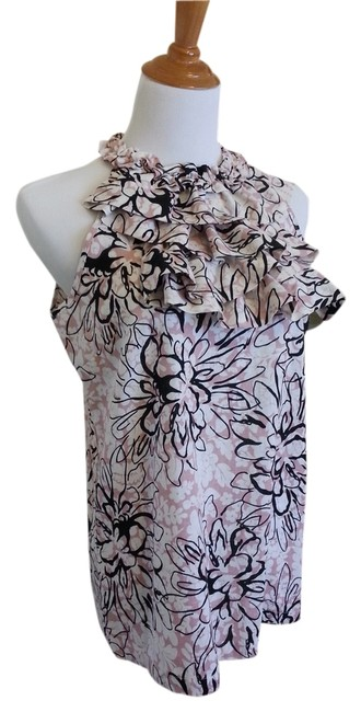 Item - Pink and White Halter Top Size 8 (M)