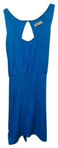 Other short dress blue Backless on Tradesy
