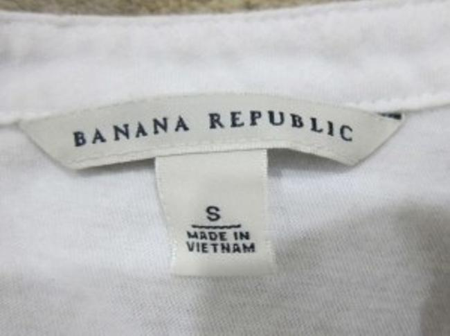 Banana Republic T Shirt Blue and White