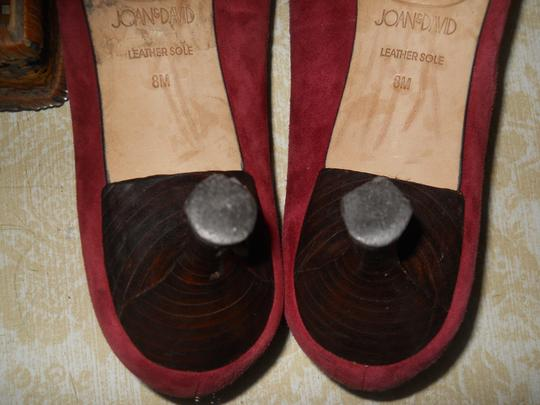 Circa Joan & David Burgundy Pumps
