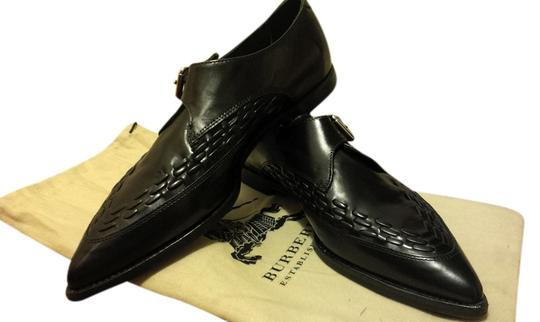 Preload https://item3.tradesy.com/images/burberry-balck-pointed-monk-strap-leather-flats-size-us-75-918222-0-0.jpg?width=440&height=440