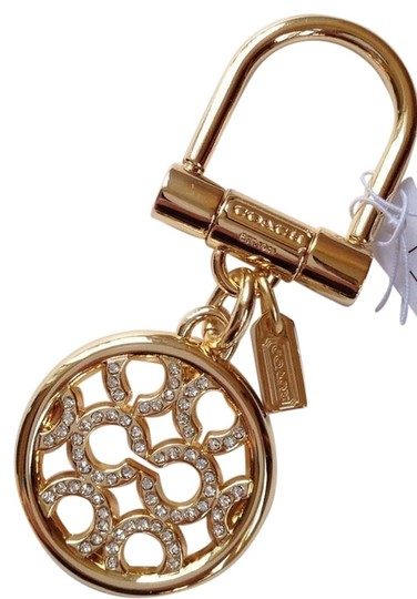Preload https://item5.tradesy.com/images/coach-2-key-ring-purse-fobs-pierced-c-op-art-pave-crystal-and-pave-crystal-letters-918354-0-0.jpg?width=440&height=440